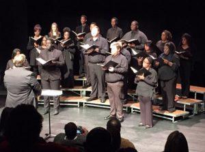 Choir on stage