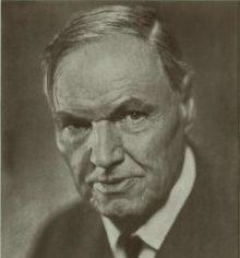 Clarence Darrow portrait