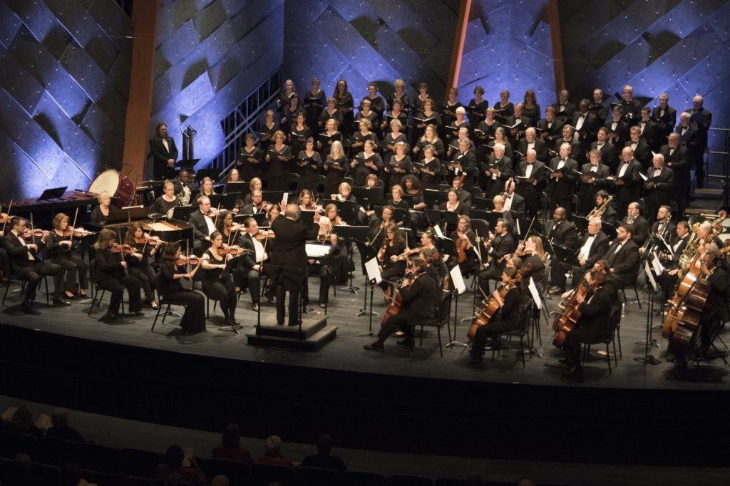 Florence Symphony Orchestra on stage