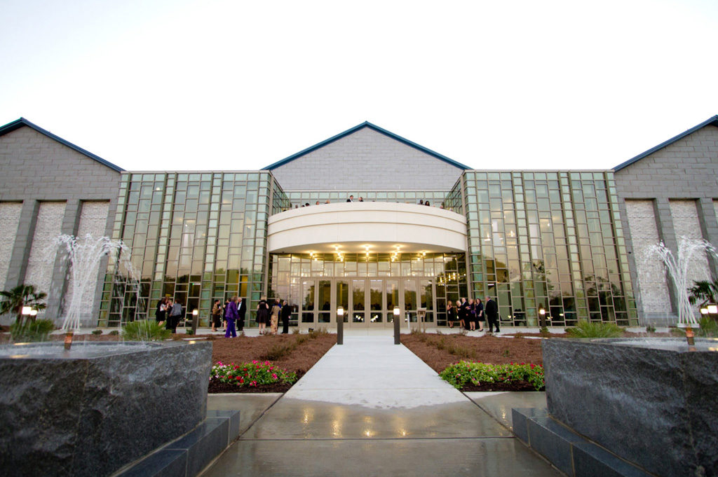 Front View of PAC