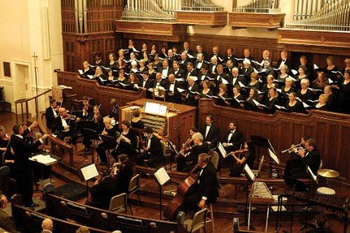 Masterworks choir performing