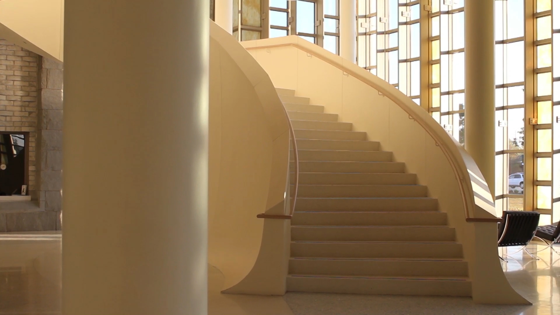 Staircase in the PAC