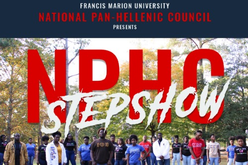photo of NPHC stepshow event